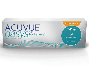 1-DAY Acuvue Oasys HYDRALUXE for Astigmatism