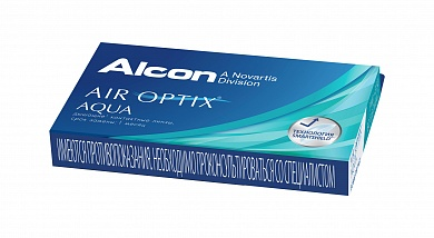 Air Optix Aqua (3 блистера)